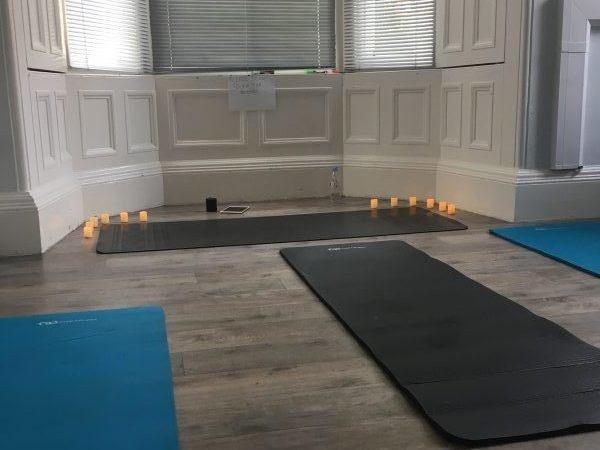 yoga with fay edinburgh class space